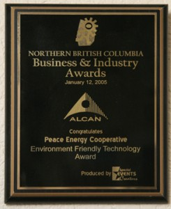 Northern British Columbia Business & Industry Environment Friendly Technology Award