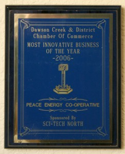 Dawson Creek Chamber of Commerce Innovative Business of the Year