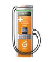 The DC Fast Charger (450v DC) is used to top up your charge on long distance trips or during short stops in urban areas.