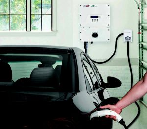grid-tied inverter / EV charger